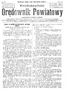 Krotoszyński Orędownik Powiatowy 1931.08.01 R.56 Nr60