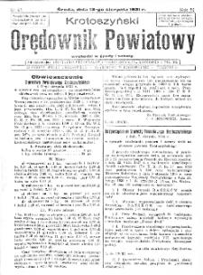 Krotoszyński Orędownik Powiatowy 1931.08.12 R.56 Nr63