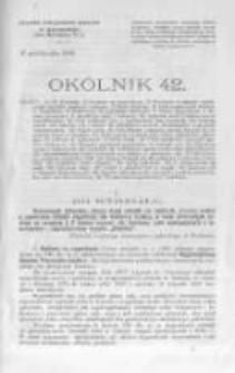 Okólnik. 1899 nr42