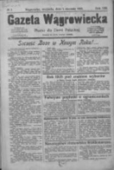 Gazeta Wągrowiecka: pismo dla ziemi pałuckiej 1928.01.01 R.8 Nr1