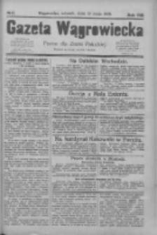 Gazeta Wągrowiecka: pismo dla ziemi pałuckiej 1928.05.22 R.8 Nr61