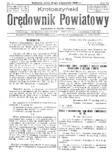 Krotoszyński Orędownik Powiatowy 1931.01.03 R.56 Nr1