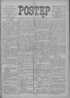 Postęp 1899.12.10 R.10 Nr281+dodatek