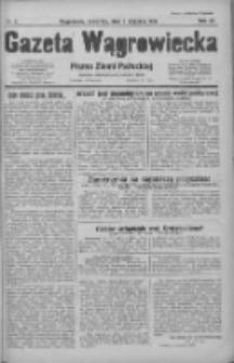 Gazeta Wągrowiecka: pismo ziemi pałuckiej 1931.01.08 R.11 Nr5