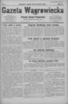 Gazeta Wągrowiecka: pismo ziemi pałuckiej 1931.01.09 R.11 Nr6