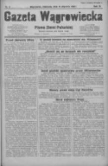 Gazeta Wągrowiecka: pismo ziemi pałuckiej 1931.01.11 R.11 Nr8