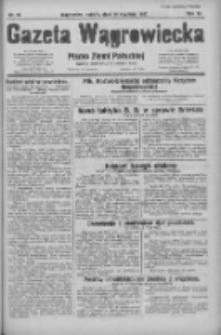 Gazeta Wągrowiecka: pismo ziemi pałuckiej 1931.01.24 R.11 Nr19