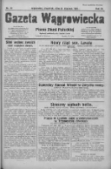 Gazeta Wągrowiecka: pismo ziemi pałuckiej 1931.01.29 R.11 Nr23