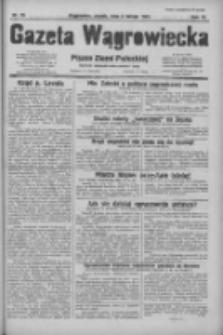 Gazeta Wągrowiecka: pismo ziemi pałuckiej 1931.02.06 R.11 Nr29