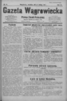 Gazeta Wągrowiecka: pismo ziemi pałuckiej 1931.02.08 R.11 Nr31