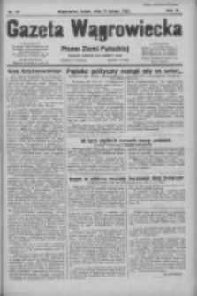 Gazeta Wągrowiecka: pismo ziemi pałuckiej 1931.02.11 R.11 Nr33