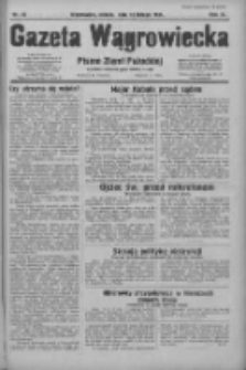 Gazeta Wągrowiecka: pismo ziemi pałuckiej 1931.02.14 R.11 Nr36