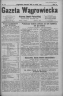 Gazeta Wągrowiecka: pismo ziemi pałuckiej 1931.02.15 R.11 Nr37