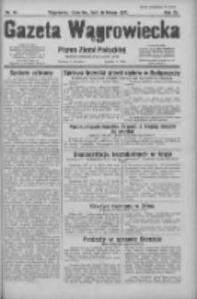 Gazeta Wągrowiecka: pismo ziemi pałuckiej 1931.02.26 R.11 Nr46