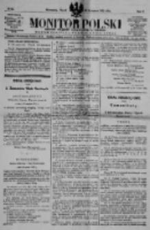 Monitor Polski. Dziennik Urzędowy Rzeczypospolitej Polskiej. 1922.04.21 R.5 nr91