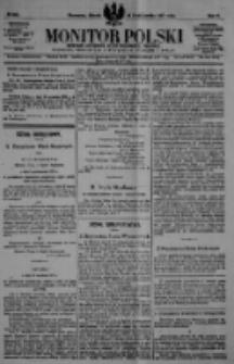 Monitor Polski. Dziennik Urzędowy Rzeczypospolitej Polskiej. 1922.10.24 R.5 nr242