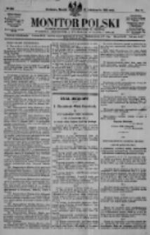 Monitor Polski. Dziennik Urzędowy Rzeczypospolitej Polskiej. 1922.10.31 R.5 nr248