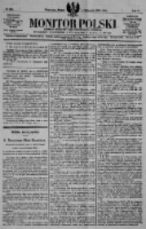 Monitor Polski. Dziennik Urzędowy Rzeczypospolitej Polskiej. 1922.11.03 R.5 nr250