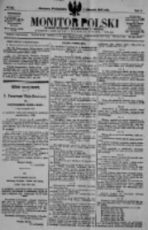 Monitor Polski. Dziennik Urzędowy Rzeczypospolitej Polskiej. 1922.11.06 R.5 nr252