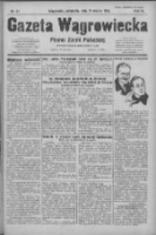 Gazeta Wągrowiecka: pismo ziemi pałuckiej 1931.03.15 R.11 Nr61