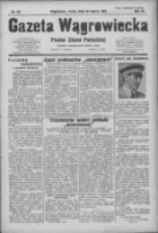 Gazeta Wągrowiecka: pismo ziemi pałuckiej 1931.03.25 R.11 Nr69