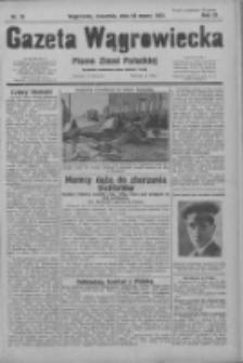 Gazeta Wągrowiecka: pismo ziemi pałuckiej 1931.03.26 R.11 Nr70