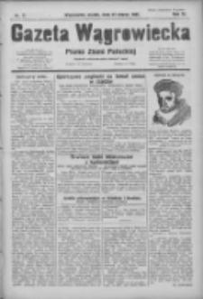 Gazeta Wągrowiecka: pismo ziemi pałuckiej 1931.03.27 R.11 Nr71