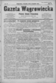 Gazeta Wągrowiecka: pismo ziemi pałuckiej 1931.04.02 R.11 Nr76