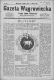 Gazeta Wągrowiecka: pismo ziemi pałuckiej 1931.04.05 R.11 Nr79