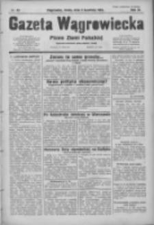 Gazeta Wągrowiecka: pismo ziemi pałuckiej 1931.04.08 R.11 Nr80