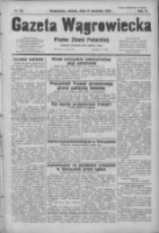 Gazeta Wągrowiecka: pismo ziemi pałuckiej 1931.04.11 R.11 Nr83
