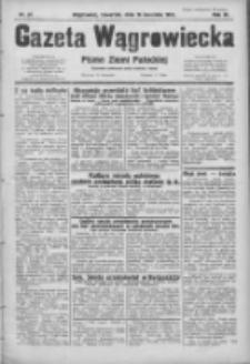Gazeta Wągrowiecka: pismo ziemi pałuckiej 1931.04.16 R.11 Nr87