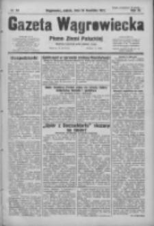 Gazeta Wągrowiecka: pismo ziemi pałuckiej 1931.04.24 R.11 Nr94