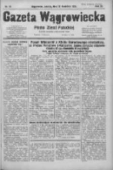 Gazeta Wągrowiecka: pismo ziemi pałuckiej 1931.04.25 R.11 Nr95