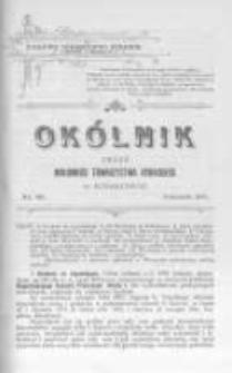 Okólnik. Organ Krajowego Towarzystwa Rybackiego w Krakowie. 1900 nr49