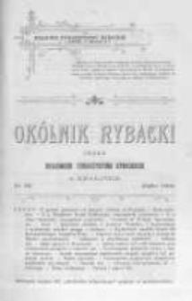 Okólnik Rybacki. Organ Krajowego Towarzystwa Rybackiego w Krakowie. 1906 nr86
