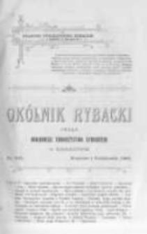 Okólnik Rybacki. Organ Krajowego Towarzystwa Rybackiego w Krakowie. 1908 nr101