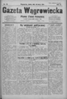 Gazeta Wągrowiecka: pismo ziemi pałuckiej 1931.05.20 R.11 Nr115
