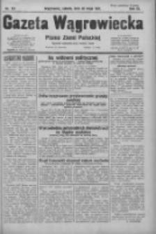 Gazeta Wągrowiecka: pismo ziemi pałuckiej 1931.05.30 R.11 Nr123