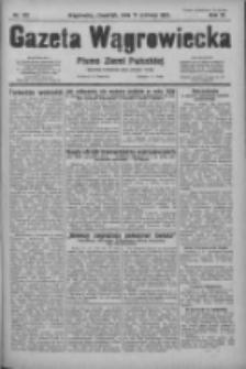 Gazeta Wągrowiecka: pismo ziemi pałuckiej 1931.06.11 R.11 Nr132