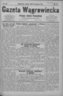 Gazeta Wągrowiecka: pismo ziemi pałuckiej 1931.06.20 R.11 Nr140