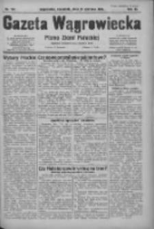 Gazeta Wągrowiecka: pismo ziemi pałuckiej 1931.06.25 R.11 Nr144
