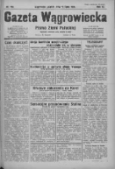 Gazeta Wągrowiecka: pismo ziemi pałuckiej 1931.07.10 R.11 Nr156
