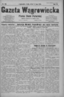 Gazeta Wągrowiecka: pismo ziemi pałuckiej 1931.07.15 R.11 Nr160