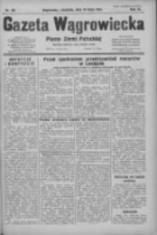 Gazeta Wągrowiecka: pismo ziemi pałuckiej 1931.07.19 R.11 Nr164