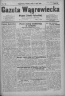Gazeta Wągrowiecka: pismo ziemi pałuckiej 1931.07.21 R.11 Nr165