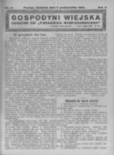 Gospodyni Wiejska. 1922.10.08 R.7 nr41