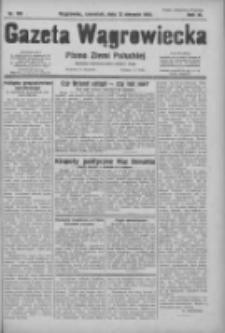 Gazeta Wągrowiecka: pismo ziemi pałuckiej 1931.08.01 R.11 Nr185