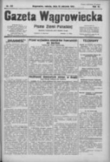 Gazeta Wągrowiecka: pismo ziemi pałuckiej 1931.08.15 R.11 Nr187
