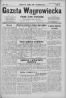 Gazeta Wągrowiecka: pismo ziemi pałuckiej 1931.09.04 R.11 Nr203
